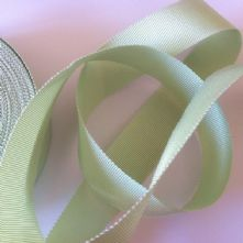Mint Green Milliner's Petersham Ribbon in 2 Widths